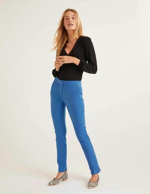 Boden Richmond Trousers Blue Women Boden  - Female - Blue - Size: 18 R