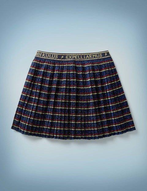 Mini Spell Skirt Multi Girls Boden Jersey Size: 5-6y