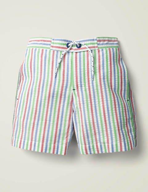 Mini Swim Shorts Green Boys Boden  Size: 6-7y
