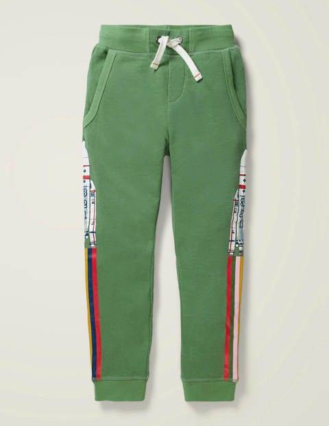 Mini Out-of-this-world Joggers Green Boys Boden  - Male - Green - Size: 7y