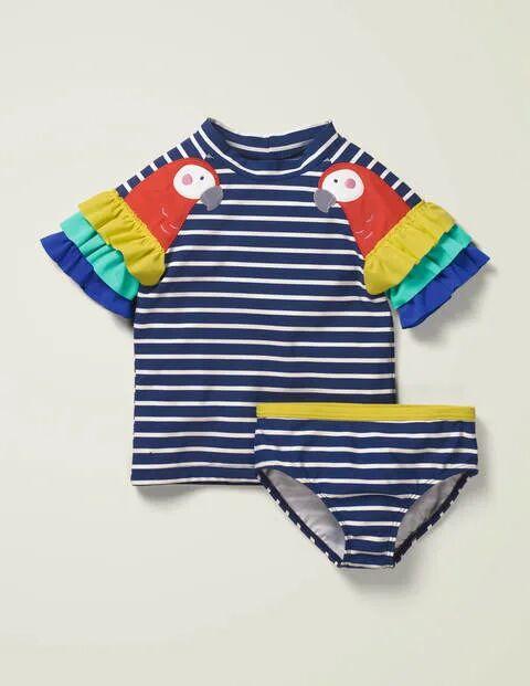 Mini Novelty Rash Vest Set Navy Girls Boden  Size: 8-9y