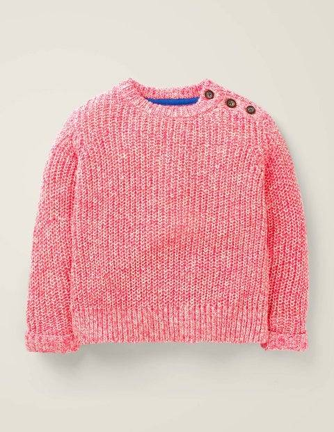 Johnnie b Nautical Jumper Pink Girls Boden  - Female - Ivory - Size: 15-16y