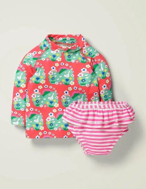 Baby Rash Vest Set Multi Baby Boden  - Unisex - Multi Colored - Size: 12-18m