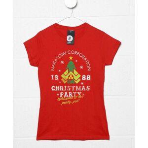 8Ball Originals Nakatomi Christmas Party Womens T-Shirt
