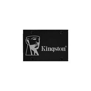 Kingston KC600 2TBGB SSD Internal SSD 2.5 Inch SATA Rev 3.0, 3D TLC, XTS-AES 256-bit Encryption