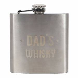 Dad's Whisky Hip Flask