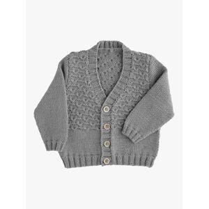 Sirdar Snuggly Baby V-Neck Cardigan Knitting Pattern  - White