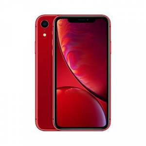 Apple iPhone XR, iOS, 6.1, 4G LTE, SIM Free, 64GB  - (PRODUCT) Red