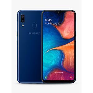 "Samsung Galaxy A20e Smartphone, Android, 5.8"", 4G LTE, SIM Free, 3GB RAM, 32GB  - Blue"