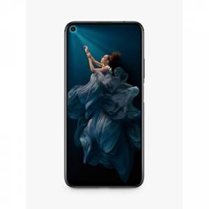 "Honor 20 Smartphone, Android, 6.26"", 4G LTE, SIM Free, 6GB RAM, 128GB  - Midnight Black"
