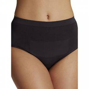 Cantaloop Caesarean Section Briefs, Pack of 2, White/Black
