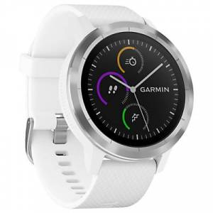 Garmin Vivoactive 3 GPS Smartwatch with Contactless Payment and HR  - White/Stainless