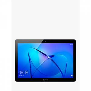 "Huawei MediaPad T3 10 Tablet, Android, Qualcomm MSM8917, 2GB RAM, 32GB eMMC, 9.6"", Grey"