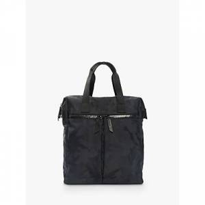 KNOMO Santiago Tote Backpack for Laptops up to 14, Black Camouflage
