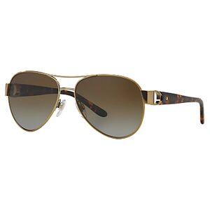 Ralph Lauren RL7047Q Polarised Aviator Sunglasses, Gold