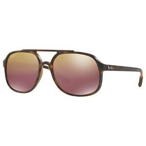 Ray-Ban RB4312 Men's Gradient Polarised Sunglasses, Tortoise/Brown
