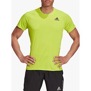 adidas Runner Running Top  - Signal Green