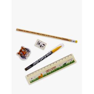 National Geographic Animal Filled Pencil Case  - Multi