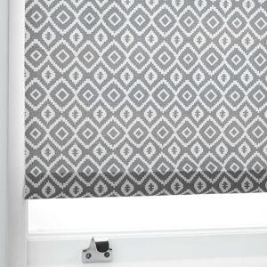 John Lewis & Partners Nazca Daylight Roller Blind, Grey  - Grey - Size: W61 x Drop 160cm