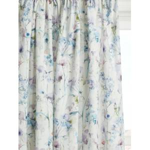 Voyage Colby Pair Lined Pencil Pleat Curtains, Violet  - Purple - Size: W229 x Drop 229cm