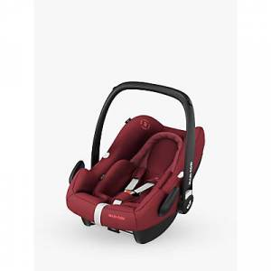 Maxi-Cosi Rock Group 0+ i-Size Baby Car Seat, Essential Red