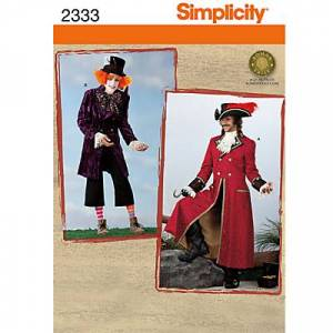 Simplicity Costume Sewing Pattern, 2333