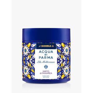 Acqua di Parma Blu Mediterraneo La Double J Mirto di Panarea Body Scrub, 200ml