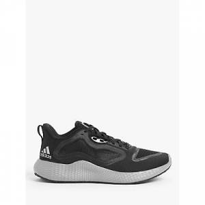 adidas Edge RC Men's Running Shoes, Core Black/Silver Metallic/Cloud White