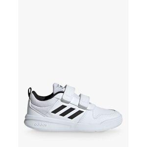 adidas Children's Tensaur Riptape Running Shoes  - Cloud White/Core Black - Size: 2