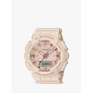 Casio Unisex G-Shock Step Tracker Resin Strap Watch  - Blush GMA-S130PA-4AER