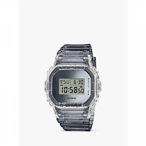 Casio Men's G-Shock Digital Resin Strap Watch, Grey DW-5600SK-1ER  - Grey DW-5600SK-1ER