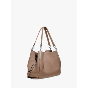 Coach Dalton 31 Leather Shoulder Bag  - Taupe