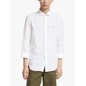 Ralph Lauren Polo Ralph Lauren Linen Shirt  - White - Size: Medium