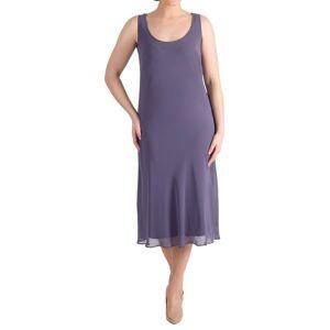 Chesca Chiffon Dress, Hyacinth  - Purple - Size: 14