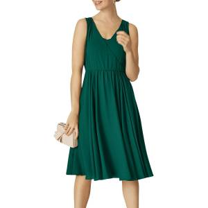 Phase Eight Rosa Dress, Emerald  - Green - Size: 10