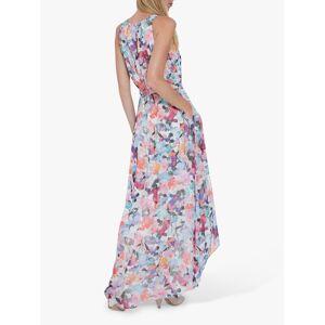 Gina Bacconi Rafia Belted Dress, Blue  - Blue - Size: 14