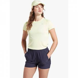 Reebok Running Essentials Speedwick Running Top  - Yellow Glow