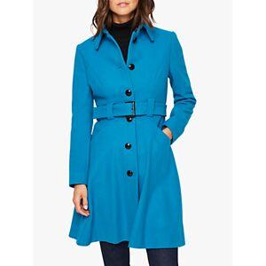 Damsel in a Dress Reeba Wool Blend Coat, Teal