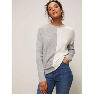 John Lewis & Partners John Lewis & Partnes Colour Block Sweater