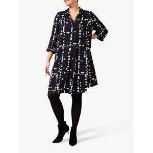 Studio 8 Bette Swing Spotted Mini Dress, Navy/Multi  - Multi - Size: 20