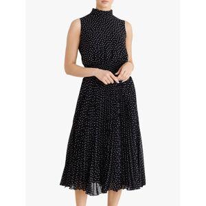 Fenn Wright Manson Dorothee Spotted Midi Dress, Navy/Spots  - Blue - Size: 8