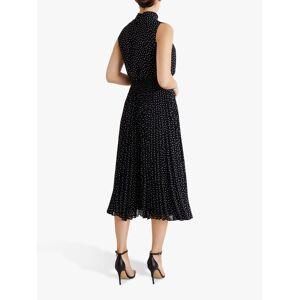 Fenn Wright Manson Dorothee Spotted Midi Dress, Navy/Spots  - Blue - Size: 10