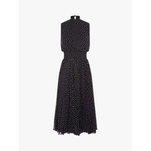 Fenn Wright Manson Dorothee Spotted Midi Dress, Navy/Spots  - Blue - Size: 16