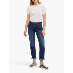 White Stuff Neo Jersey T-Shirt  - White Plain - Size: 22