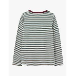 Joules Selma Long Sleeve Round Neck Cotton Top