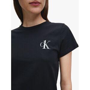 Calvin Klein Crew Neck Pyjama Top  - Black - Size: Extra Large