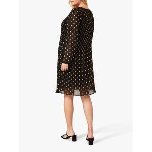 Studio 8 Jayla Spot Print Dress, Black  - Black - Size: 24