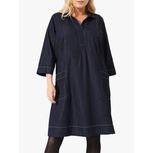 Studio 8 Addilyn Swing Denim Dress, Indigo  - Blue - Size: 22