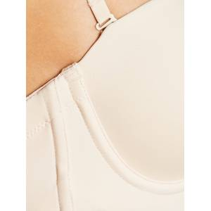 Maidenform Comfort Endlessly Smooth Firm Control Slip  - Latte - Size: 38B