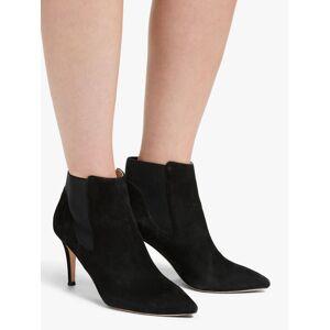 Boden Elsworth Kitten Heel Pointed Toe Shoe Boots, Black  - Black - Size: 7